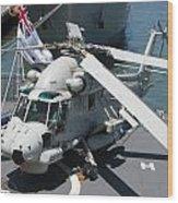 Kaman Sh-2g Sea Sprite Wood Print