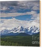 Kananaskis Wood Print