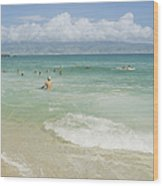 Kapalua - Aia I Laila Ke Aloha - Honokahua Wood Print