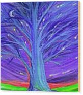 Karen's Tree 1 Wood Print