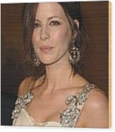 Kate Beckinsale Wearing An Alberta Wood Print by Everett