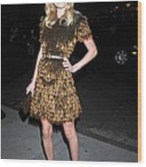 Kate Bosworth Wearing A Burberry Wood Print
