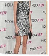 Kate Bosworth Wearing A Proenza Wood Print by Everett