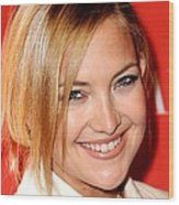 Kate Hudson At Arrivals For Times 100 Wood Print by Everett