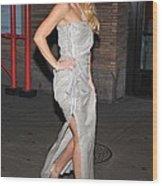 Kate Hudson Wearing Lanvin Gown Wood Print