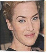 Kate Winslet At Arrivals For Mildred Wood Print by Everett