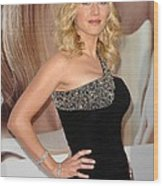 Kate Winslet Wearing A Balmain Dress Wood Print by Everett