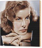 Katharine Hepburn, Ca. 1935 Wood Print