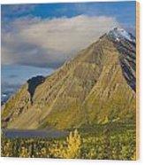 Kathleen Lake, Kluane National Park Wood Print