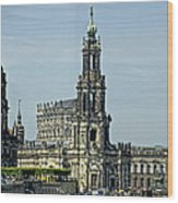 Katholische Hofkirche - Dresden Wood Print