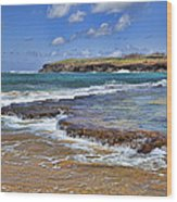Kauai Beach 2 Wood Print