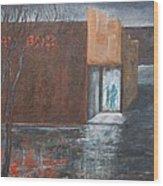 Kay Box  Wood Print by Elizabeth Lane