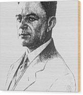 Kazimierz Funk, Polish-american Wood Print by Science Source