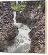 Keanae Peninsula Paradise Maui Wood Print