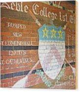 Keble College 2007 Rowing Standings Wood Print