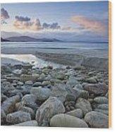 Keem Strand, Achill Island, Co Mayo Wood Print
