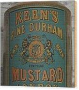 Keen's Mustard Wood Print