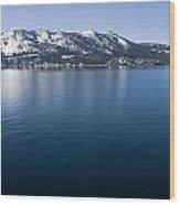 Keep Tahoe Blue 2 Wood Print