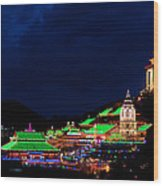 Kek Lok Si Temple Of Penang Wood Print
