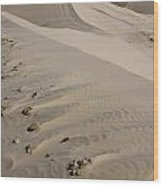 Kelso Dune Tops Wood Print