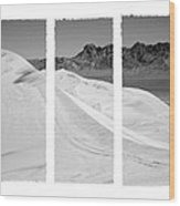 Kelso Dunes Triptych Wood Print