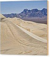 Kelso Sand Dunes Wood Print
