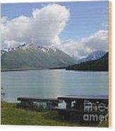 Kenai Lake Wood Print