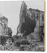 Kenilworth Castle - England - C 1897 Wood Print