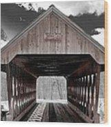 Keniston Bridge Wood Print