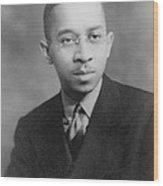 Kenneth B. Clark 1914-2005, African Wood Print by Everett