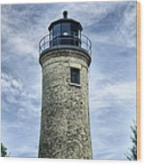 Kenosha Southport Lighthouse Wood Print