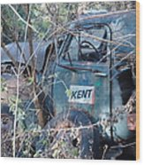 Kent Chevy Truck Wood Print