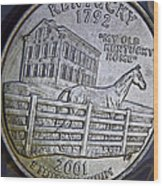 Kentucky 2001 Wood Print