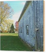 Kentucky Barn  Wood Print