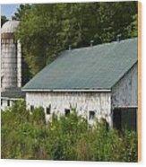 Kentucky Silo Wood Print