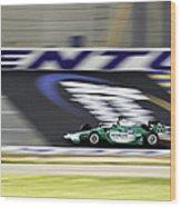 Kentucky Speedway Irl Wood Print