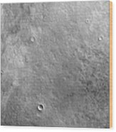 Kepler Crater On The Surface Of Mars Wood Print