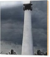 Key Biscayne Lighthouse Wood Print by Rudy Umans