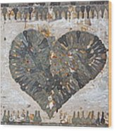 Key To My Heart Wood Print