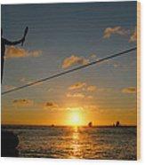 Key West Sunset Performance Wood Print
