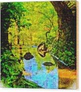 Keystone Bridge Wood Print