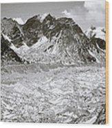 Khumbu Glacier Wood Print