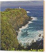 Kilauea Lighthouse Hawaii Wood Print