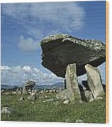 Kilclooney, Co Donegal, Ireland Dolmen Wood Print