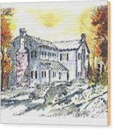 Kilgore Lewis Home Wood Print
