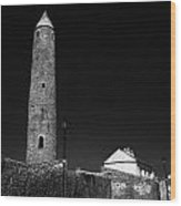 Killala Round Tower County Mayo Ireland Wood Print