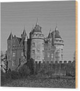 Killyleagh Castle Wood Print