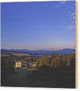 Kilruddery Demesne, From The Rockery Wood Print