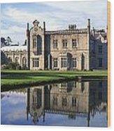 Kilruddery House And Gardens, Co Wood Print
