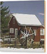 Kimberton Mill Wood Print